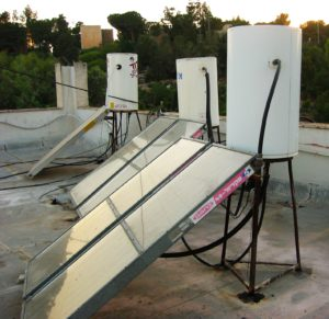 Roof-top Solar Water Heater Israeli Style