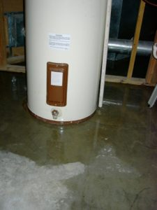 Storage-style Hot Water Heater Leaking