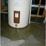 Water Heater Leaking  from the bottom